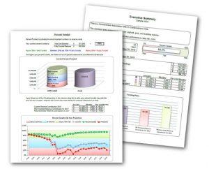 Reserve study sample charts